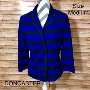 Doncaster Striped Blazer Jacket